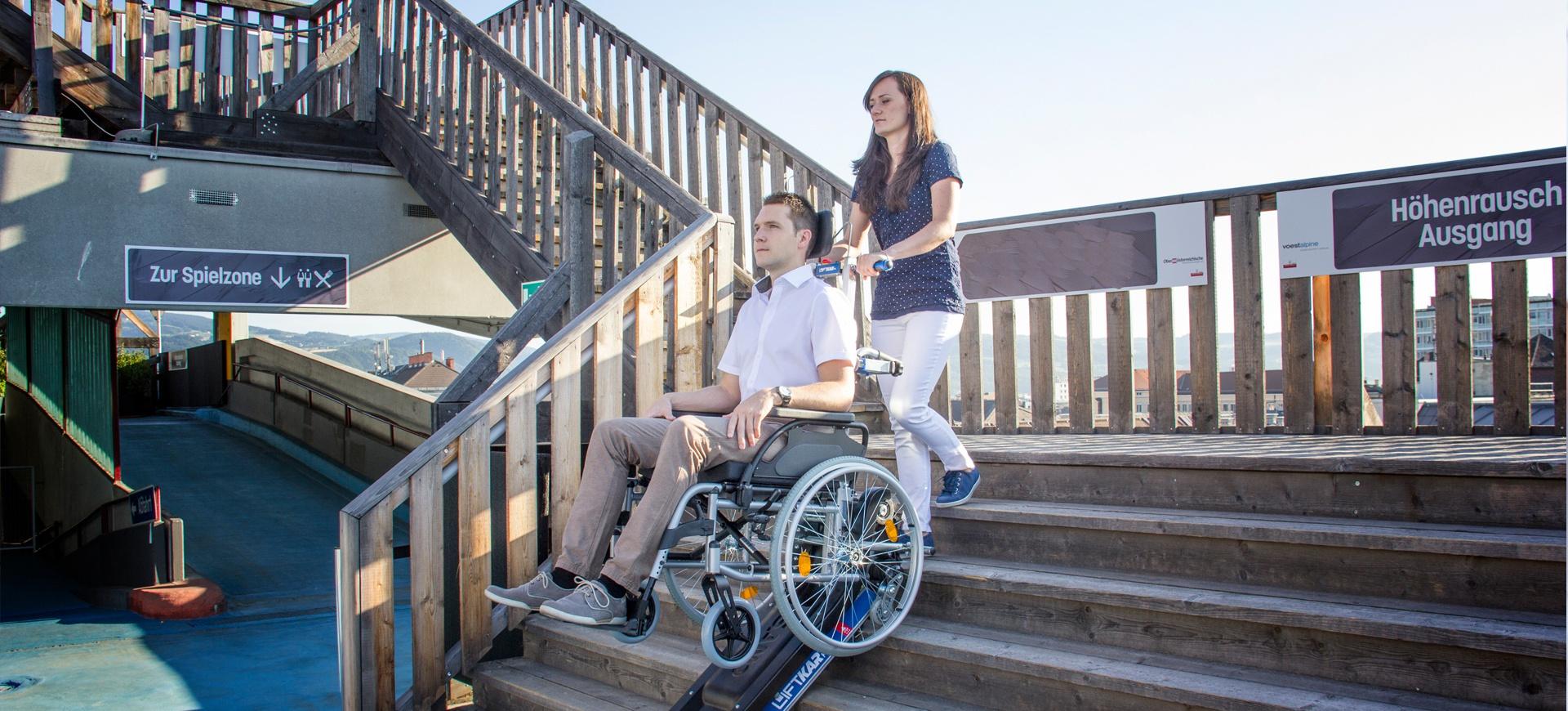 schodołaz dla niepełnosprawnych